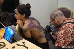 尼泊尔第7届国际纹身大会 现场