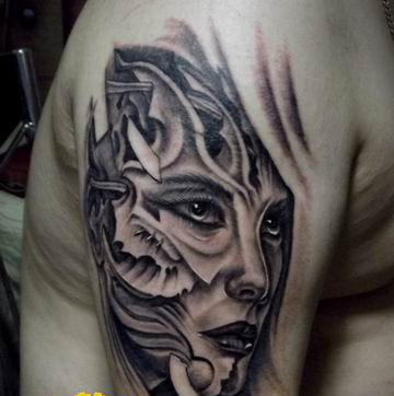 纹身修改作品